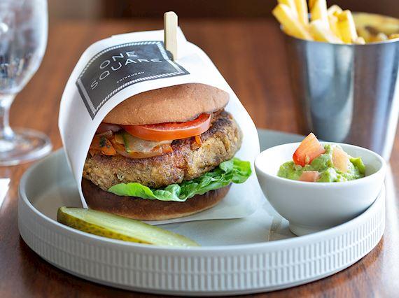 One Square - Vegan Burger