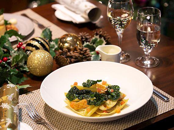 Christmas Day Dinner in Edinburgh