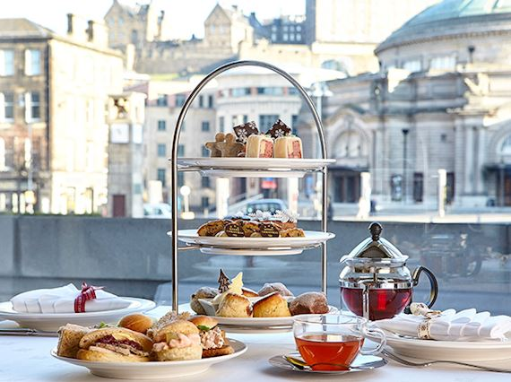 Festive Afternoon Tea in Edinburgh