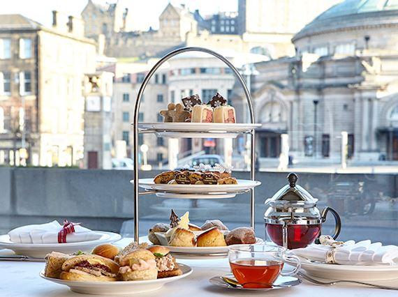 Festive Afternoon Tea in Edinburgh