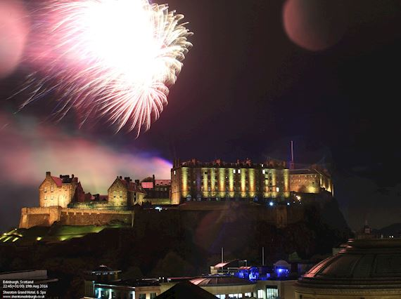 Hogmanay Dinner in Edinburgh